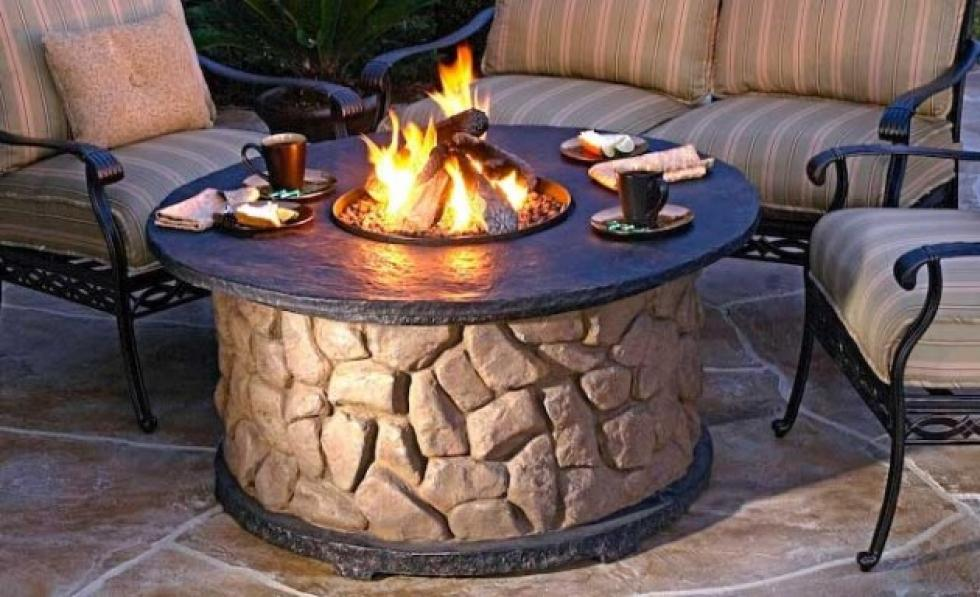 patio fireplace table.  Are Backyard Fire Pits Illegal